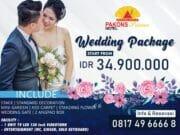 Wedding Package Pakons Prime Hotel Mulai Dari IDR. 34.900.000