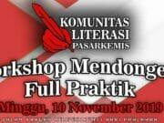 Yuk ! Belajar Dongeng Gaya Kang Budi Euy di Workshop KLP Tangerang