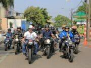 Sunmori KNPI, Keliling Kota Bareng Komunitas Motor Klasik