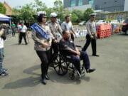 Semangat Para Dipable Dapatkan SIM D Di Polresta Tangerang