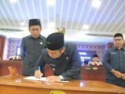 Sah! APBD Kota Tangerang TA. 2020 Ditandatangani