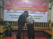 Malam Harmoni, Lepas Sambut Kapolsek Kota Tangerang