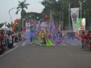 Fashion Carnaval di Festival Budaya Nusantara III Ajang Kreatifitas Peserta