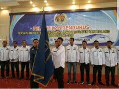 Pengurus PWI Pandeglang Masa Bakti 2019-2022 Resmi Dilantik