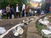 Bupati Geram, Sampah Berserakan di Gemilang Tangerang Festival