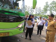 Libur Nataru, Ramp Check Dishub Kota Tangerang: 114 Kendaraan Layak Operasi 1 Balik Kandang