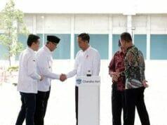 WH Dampingi Jokowi Meresmikan Pabrik Baru Polyethylene PT Chandra Asri