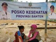 Gubernur Tegaskan Layanan Kesehatan Terbaik di Posko Pengungsian Banten