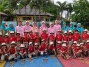 Peduli Pendidikan Dini, Bhayangkari Polres Tangsel Kunjungi TK Kemala Bhayangkari