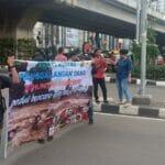 Komunitas Se-Tangerang Gelar Aksi Solidaritas Untuk Bencana Alam Lebak
