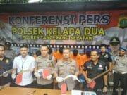 Sindikat Perampok Minimarket di Tangerang Raya, Dibekuk Polisi Kelapa Dua
