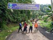Tim dan Alat Berat Pemprov Banten Capai Jembatan Cinyiru