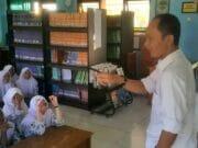 DPK Banten Kampenyekan Kegemaran Membaca di SMKN 8 Pandeglang