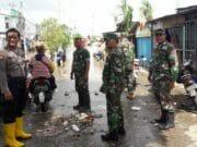 Hujan Deras, Polsek Jatiuwung Cek Rumah Warga Terendam Banjir di Periuk