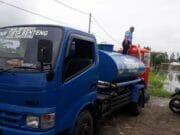 12 Ribu Liter Air Bersih Dipasok ke Lokasi Banjir