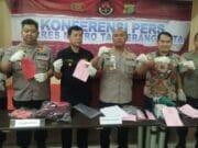 Polisi Ringkus Pelaku Curanmor Lintas Provinsi di Tangerang