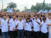 Gerak Jalan Sehat Pertamina dan Wali Kota Tangerang