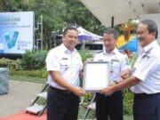 Brilliant, Dishub Kota Tangerang Luncurkan Smart Card PKB dan Sistem Pembayaran Non Tunai BRT
