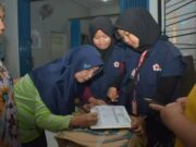 PMI Kota Tangerang Kirim Logistik Ke Pengungsian di Periuk