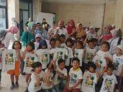 480 Anak Paud Se-Kota Tangsel Tuangkan Inovasi Dan Kreatifitas di Kaos. Taryono Tanamkan Solidaritas Sejak Dini