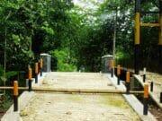 Jembatan Gantung Sungai Cilancar Disoal, LSM Pamungkas Lapor ke Kajari