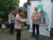 Karna Covid-19, Polda Banten Perketat Pemeriksaan