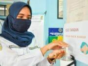 Social Distancing di Pelayanan KIR dan PKB Dishub Kota Tangerang
