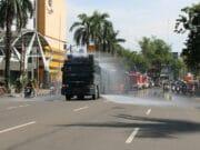 Terus Bergerak, 3 Pilar Kota Tangerang Kembali Semprot Disinfektan