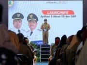 Kini SD dan SMP se- Kota Tangerang Gunakan Aplikasi e-Absen