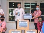 4.000 Masker Disumbangkan Indomart ke Kabupaten Tangerang
