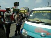 Satlantas Polresta Tangerang Edukasi Lawan Corona, Jaga Jarak dan Jaga Diri
