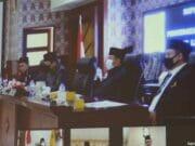 Paripurna DPRD Kota Tangerang LKPJ 2019 Lewat Video Conference