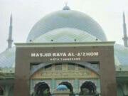 Catat! Ramadhan 2020 Terawih di Masjid Raya Al Azhom Ditiadakan