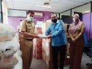 Bersama Lawan Covid-19, Perumdam TKR Serahkan APD ke Pemkab Tangerang