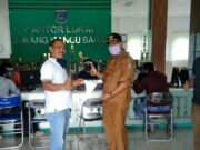 Peduli Covid-19, DPC HIPAKAD Tangsel Berikan Bantuan APD Ke Kelurahan Juramangu Barat