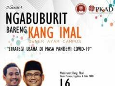 ITB Ahmad Dahlan Bahas Startegi Usaha Dimasa Pandemi Covid-19 Melalui Diskusi Online