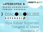 Pemuda Bahas Kondisi Koperasi Tangsel Di Masa Pandemi Covid-19 Melalui Diskusi Online