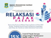 Pemkot Tangerang Beri Relaksasi Pajak Daerah