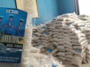 KNPI Kota Tangerang Salurkan 2 Ton Beras Bantu Masyarakat Terdampak Covid-19