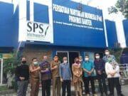 Perkuat Sinergitas, Kepala Dinas Kesehatan Provinsi Banten Sambangi Sekretariat PWI