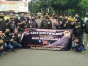 HUT Bhayangkara ke- 74, Biker's Kota Tangerang Kunjungi Kantor Polisi