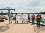 Elnusa Petrofin Gelar Go Live Penyaluran Biosolar di Kutai Timur