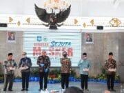 Mendagri Launching Pembagian Jutaan Masker di Kabupaten Kuningan