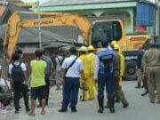 Pasar Jatiuwung Digusur, Ratusan Pedagang Direlokasi