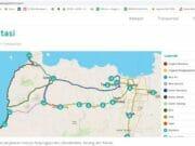 KKN Daring, Mahasiswa UGM Buat Web Transportasi Menuju Tanjung Lesung