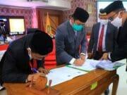 Pemkot dan DPRD Kota Tangerang Tandatangani MoU KUA-PPAS APBD 2020