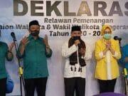 Do'a Bersama Iringi Benyamin Davnie - Pilar Saga Ichsan Mendaftar Ke KPU