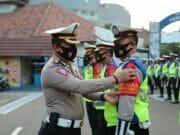 Bantu Gugus Tugas Covid-19, Polisi Perketat Protokol Kesehatan di Kota Tangerang