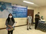Tes Swab PCR Insan Media, Dewan Pers Gendeng Astra dan RSPP