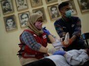 Gandeng Kotret, PMI Kota Tangerang Gelar Workshop dan Donor Darah
